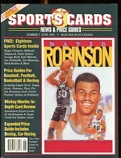 Allan Kaye's Sports Cards Magazine June 1992 David Robinson w/Mint Cards jhscd2