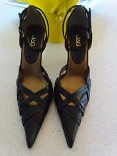 New JAG Pointed Toe Heels Shoes - Black - Size UK 7 / Euro 40 (Aus 9)