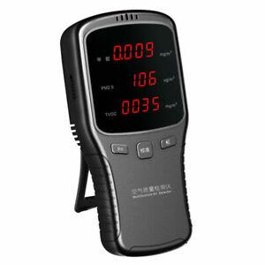 LCD Digital Formaldehyde Detector PM2.5 HCHO TVOC Meter Air Quality Tester