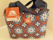 "IGLOO 12 Tote Soft Medium 12"" x 5"" x10"" Insulated Lunch Bag Leak Proof Brand New"