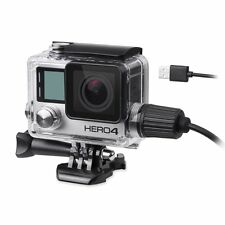 Beeway ® UPGRADE Alloggiamento Custodia Per GoPro Hero 4 (Hero 4 Nero Argento) Action Cam