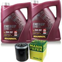 Motor-Öl 5L MANNOL 5W-30 Combi LL+MANN-FILTER KIA Sorento I JC 2.5 CRDi