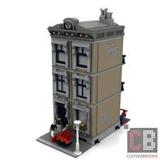 EIGENBAU PDF Bauanleitung Modular Haus New York für LEGO® Steine zB 10182 10251
