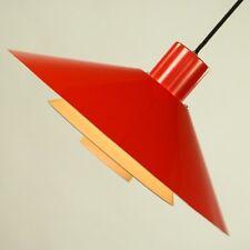 Pendel Leuchte Trapez Nordisk Solar Chr. Hvid Lamellen Lampe Denmark Vintage