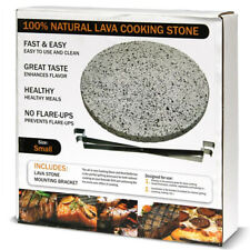 Dual-Purpose Lava Cooking Stone Heat Deflector Cadet Kamado Grill BBQ Meat Pizza