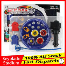 Metal Master Rapidity Fusion Fight Rare Beyblade burst Stadium Launcher Grip Set