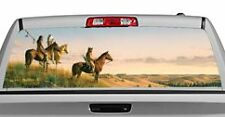 Truck Rear Window Decal Graphic [Three Indians] 20x65in DC17001