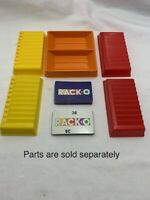 U-PICK Vintage 1980 Milton Bradley Racko Rack-O Card Game replacement parts