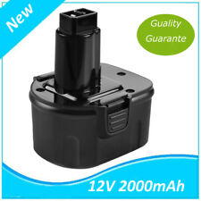 12V NI-CD Batterie pour Black & Decker DE9074 A9252 A9266 A9275 PS130 PS130B
