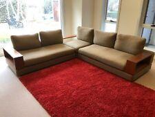 King Living Furniture Jasper Modular Lounge - as new, olive native green