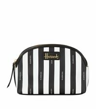 HARRODS BOUTIQUE SIGNATURE LARGE COSMETIC BAG TRAVEL POUCH - LUXURY GIFT