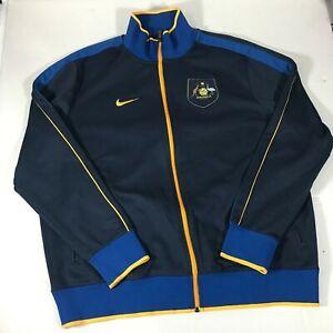 Nike Team Australia Olympic Jacket XXL RARE Soccer World Cup Vtg Og  Lot