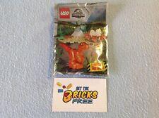 Lego Jurassic World Foil Pack 121801 Baby Raptor & Nest New/Sealed/Hard to Find