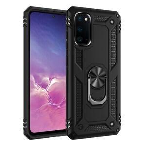 RING Magnet für Samsung Galaxy A51 Handyhülle  TPU Tasche Case - Schwarz (RISC)