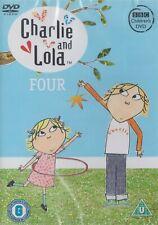 Charlie And Lola Volume 4 (BBC) - NEW Region 2 DVD