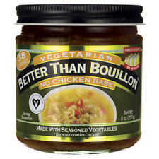 Better Than Bouillon Vegetarian No Chicken Base 8 oz Jar