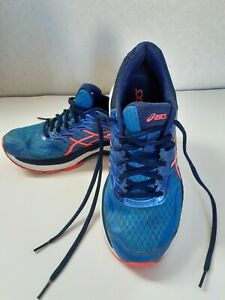 Asics GT-2000 Womens Running Sneakers Sz 8 Blue Coral T757N Athletic Walking