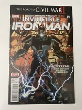 Invincible Iron Man 9 High Grade 1st Riri Willaims App