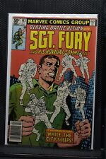 Sgt Fury and His Howling Commandos #163 Marvel 1981 Stan Lee LOW PRINT RUN 8.0