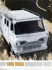 1963 Ford Truck  Recreation Fleet Sales Catalog / Not a Common Piece