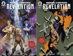 MASTERS OF THE UNIVERSE REVELATION #1 SET NM HE-MAN SKELETOR MIGNOLA NETFLIX