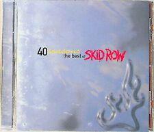 SKID ROW -40 Seasons, The Best Of CD (NEW) Greatest Hits (Hair/Glam Metal)