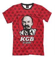KGB So Good t-shirt Russia Army Military KGB So Good Lenin USSR 736766