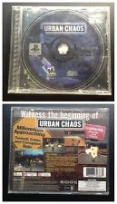 URBAN CHAOS - in case Sony Playstation PS1 Tested