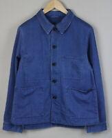 RRP $317 NUDIE JEANS JULIUS NORMAL COLLAR Men's MEDIUM Worker Jacket 1929*mm
