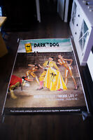 DARK DOG ENERGY DRIN 4x6 ft Shelter Original Drink Food Advertising Poster