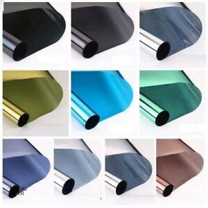 UK Mirror Anti-UV Window Film Privacy Protecting Reflective Window Tint Stickers