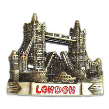 London Tower Bridge Tourist Travel Souvenir 3D Metal Fridge Magnet Gift
