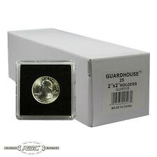 25 - Guardhouse 2x2 Tetra Plastic Snaplocks Coin Holders for Quarters