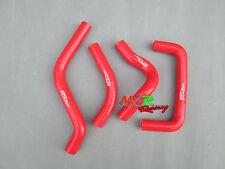 For SUZUKI RMZ450 RMZ 450 2005 05 silicone radiator hose red