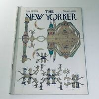 The New Yorker: Aug 29 1964 Saul Steinberg Cover Full Magazine