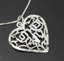Special Occasion Unbranded Sterling Silver Fine Necklaces & Pendants