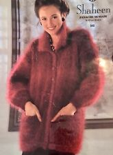 L85 - Knitting Pattern For a Lady's Mohair Cardigan / Jacket (7 Sizes)