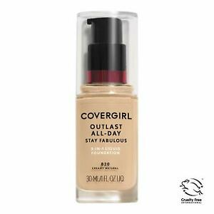 COVERGIRL Outlast All-Day Stay Fabulous 3-in-1 Foundation Creamy Natural