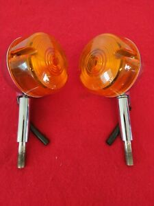 GENUINE 2002 HARLEY OEM SPORTSTER 883 FRONT TURN SIGNALS SOFTAIL DYNA BREAKOUT