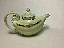 Vintage Hall China Aladdin Genie Teapot w/ Oval Lid & Infuser