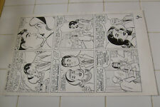 PATSY & HEDY #80 ORIGINAL ART, PAGE 4, AL HARTLEY?, MARVEL LARGE ART, walker Comic Art
