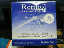 Retinol Pro-Advance Renewal Night Cream Retinol + Hyaluronic Acid 1.7 Oz