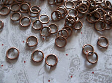 Antiqued Copper Round Jump Rings 20 gauge 6mm - Qty 142 Pieces