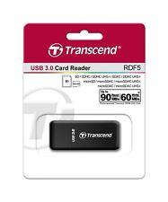 Transcend RDF5 - Kartenleser für SD und microSD Karten - USB 3.0