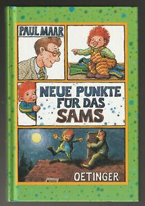 """Buch """" Neue Punkte für das Sams von Paul Maar.   ungelesen"""