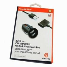 PowerJolt Micro Car Charger For ipod, iphone and ipad