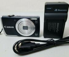 Canon PowerShot A2600 16.0MP Digital Camera - Black *GOOD/TESTED* Free Ship!