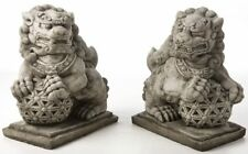 Stunning Pair Of Large Foo Dogs - Price Includes Delivery Charge