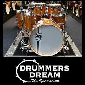 "DW Classics Series/Collectors 6 Piece Drum Kit 24"" Shell Set Burnt Orange Glass"