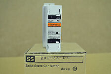 FUJI ELECTRIC  SS201-3Z-D3 SOLID STATE CONTACTOR NEU OVP NEW